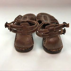 Frye Shoes - FRYE Strappy Gladiator Brown Leather Sandals Sz 6